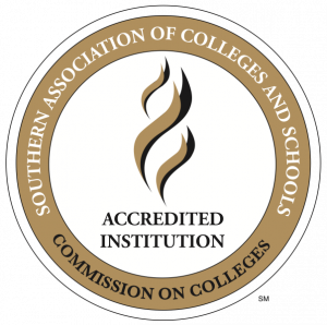 Southern Association of Colleges and Schools - Accredited Institution - Commission on Colleges